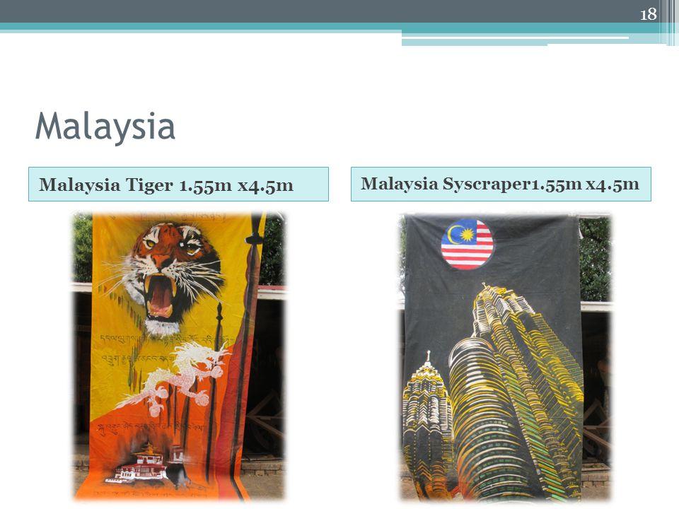 Malaysia Malaysia Tiger 1.55m x4.5m Malaysia Syscraper1.55m x4.5m 18
