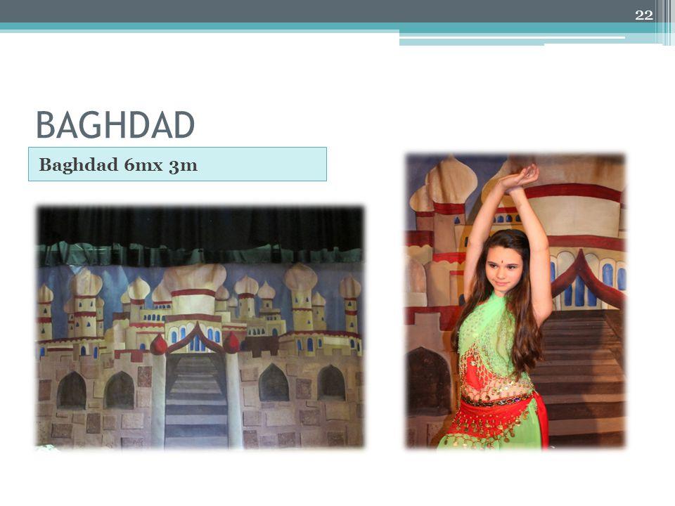BAGHDAD Baghdad 6mx 3m 22