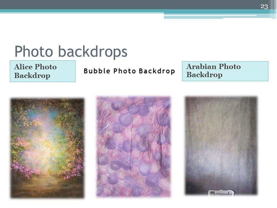 Photo backdrops Alice Photo Backdrop Arabian Photo Backdrop 23 Bubble Photo Backdrop