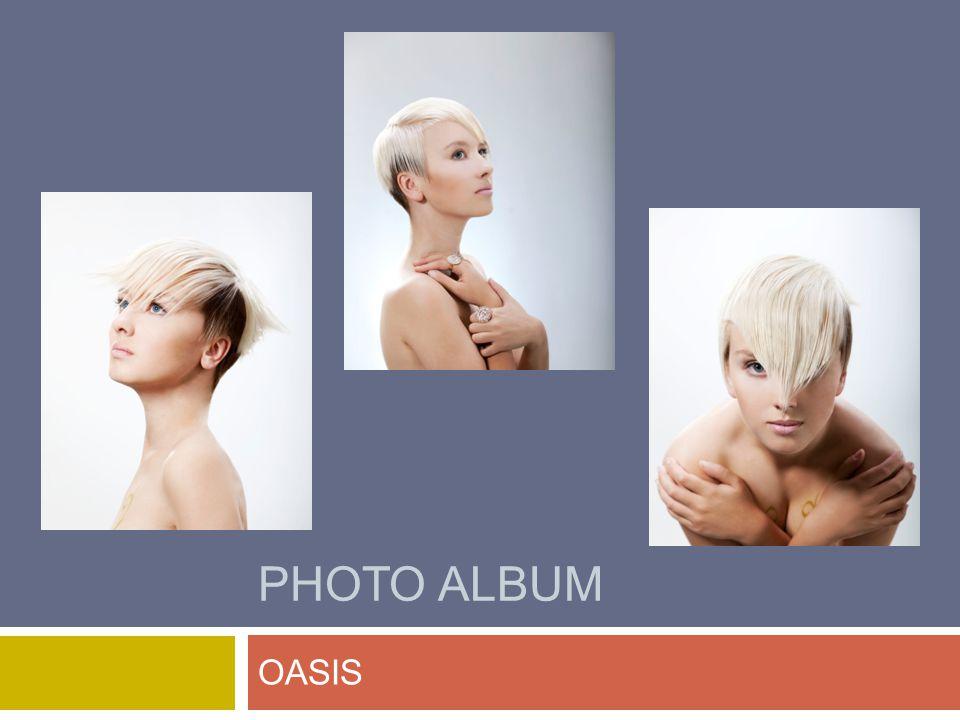 PHOTO ALBUM OASIS