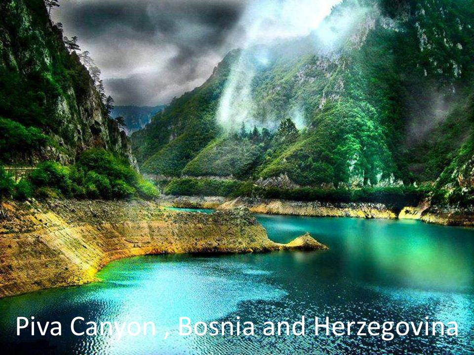 Piva Canyon, Bosnia and Herzegovina