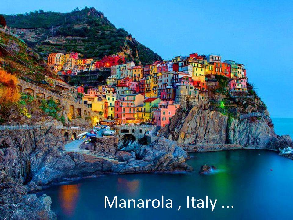 Manarola, Italy...