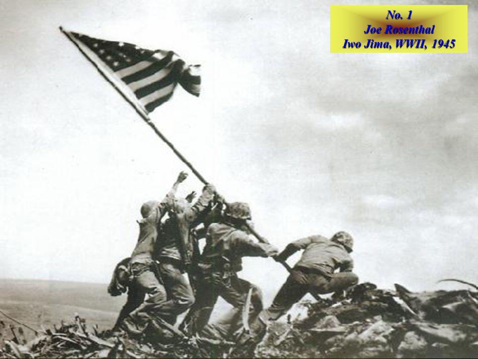 No. 2 Robert Capa D–Day, Omaha Beach, 1944