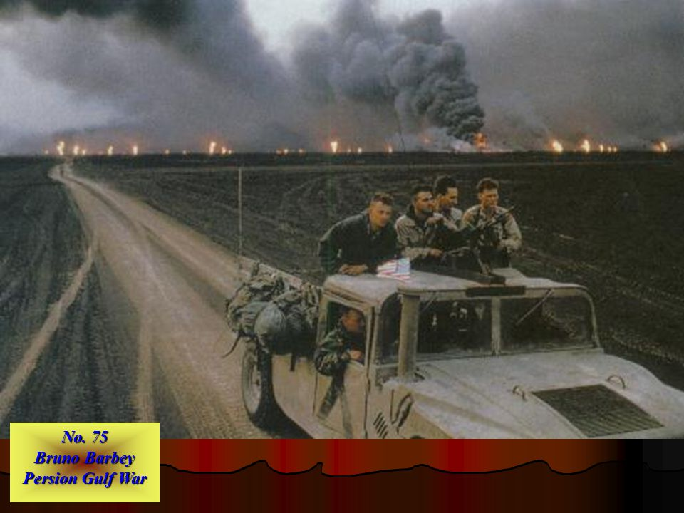 No. 76 Steve Elfers Operation Desert Storm