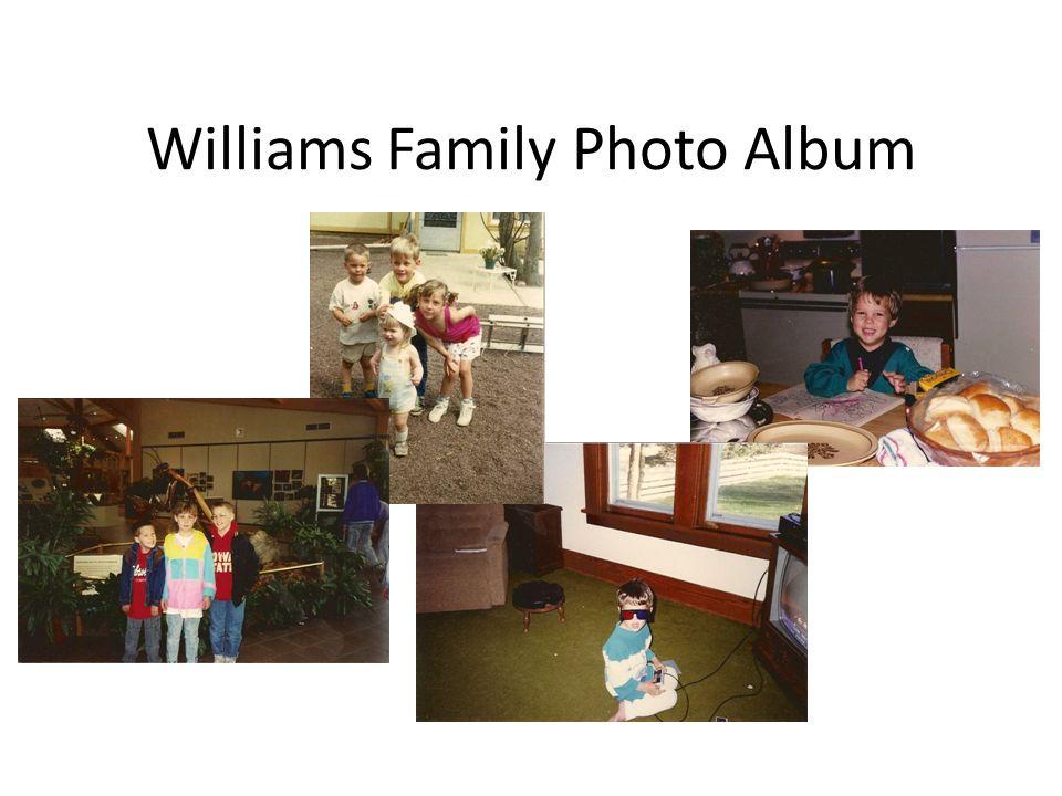 Williams Family Photo Album