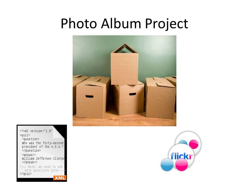 Photo Album Project