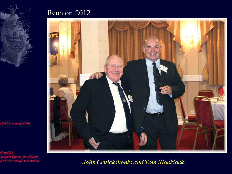 Jacky De La Haye, Roy De La Haye, Ron Hale, Martin White Reunion 2012