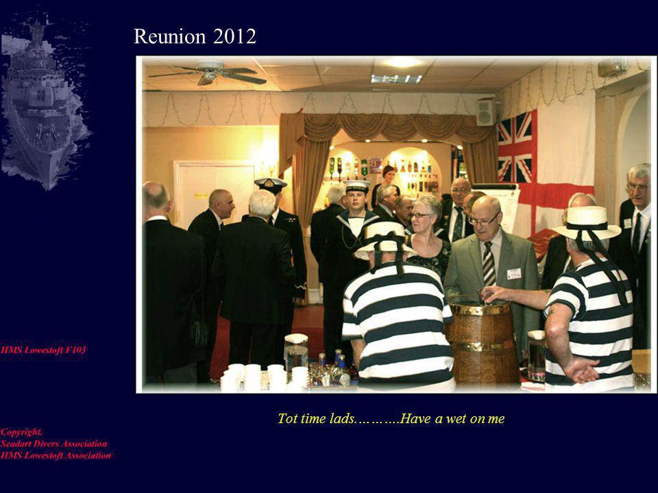 John Cruickshanks and Tom Blacklock Reunion 2012