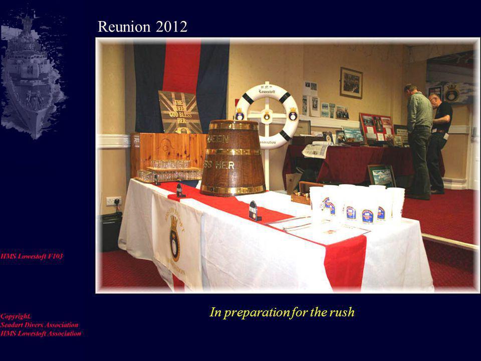 Meet and greet-----Sir John and Ian Mac Reunion 2012