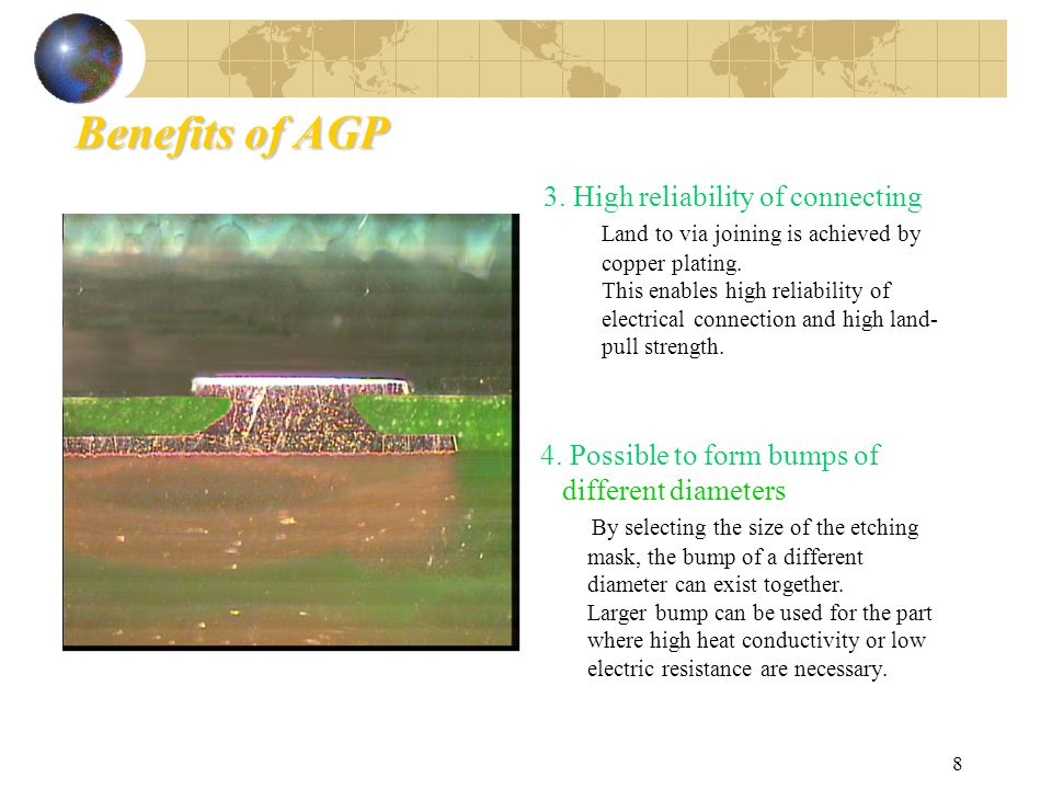 8 Benefits of AGP 3.