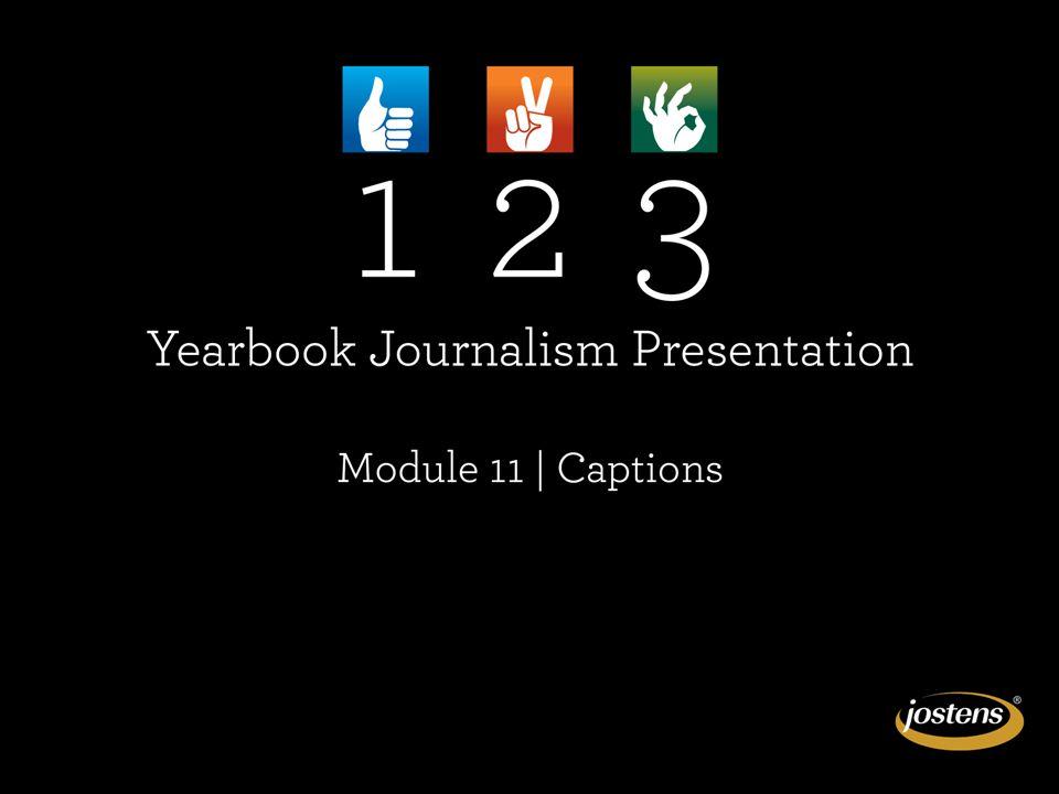 MODULE 12: CAPTIONS