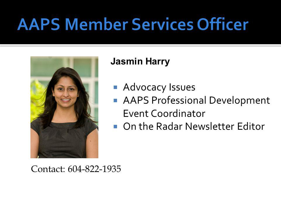 …info about AAPS members