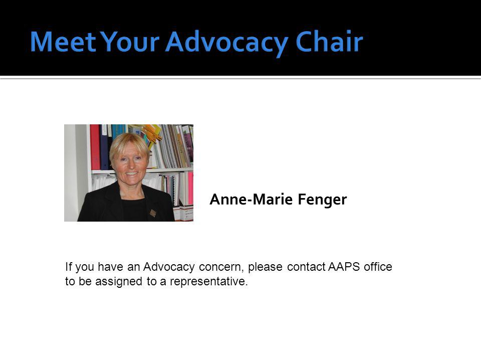 Preparing AAPS newsletter On the Radar and Annual Report Preparing and distributing official communications of AAPS including: Negotiation progress reports Official positions on issues Special bulletins Press releases Assisting Professional Development Committee to publicize events
