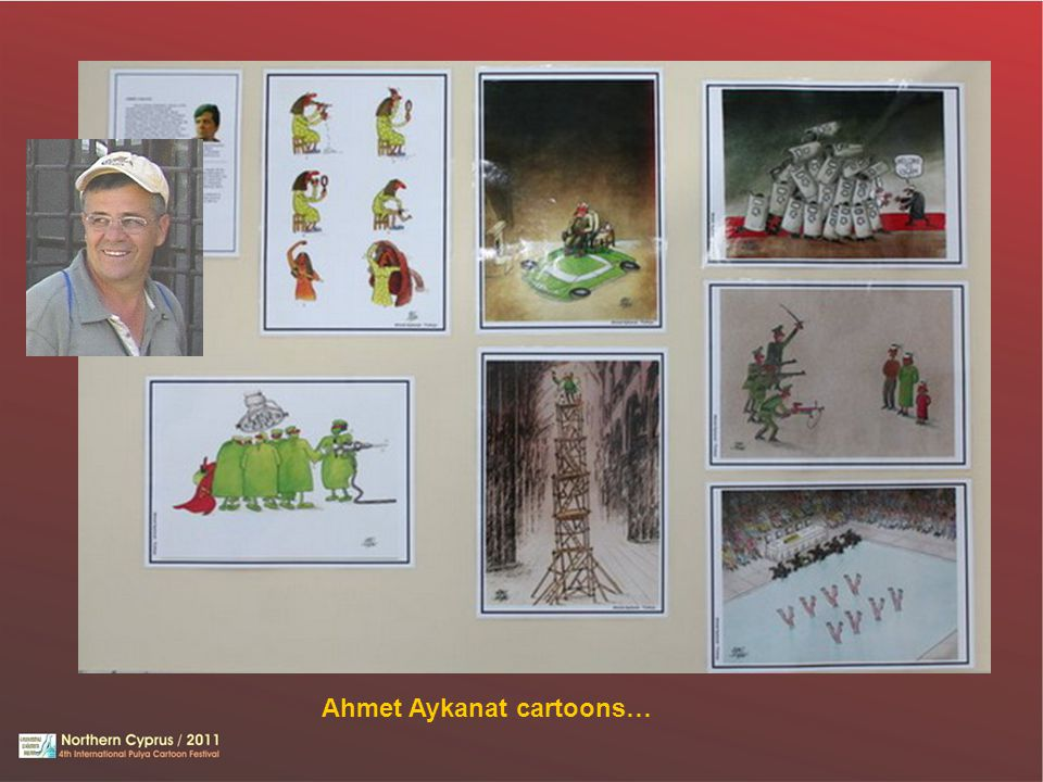 Ahmet Aykanat cartoons…
