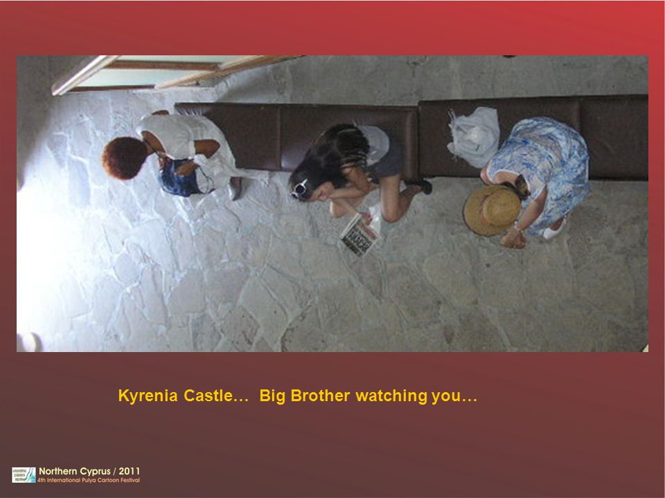 Kyrenia Castle… Big Brother watching you…
