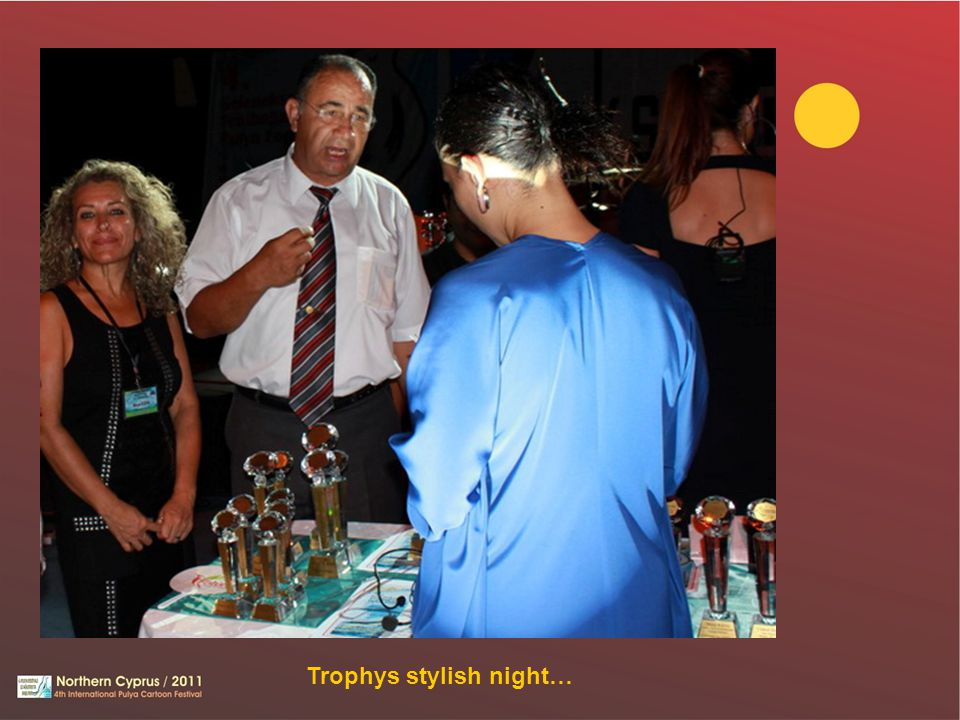 Trophys stylish night…