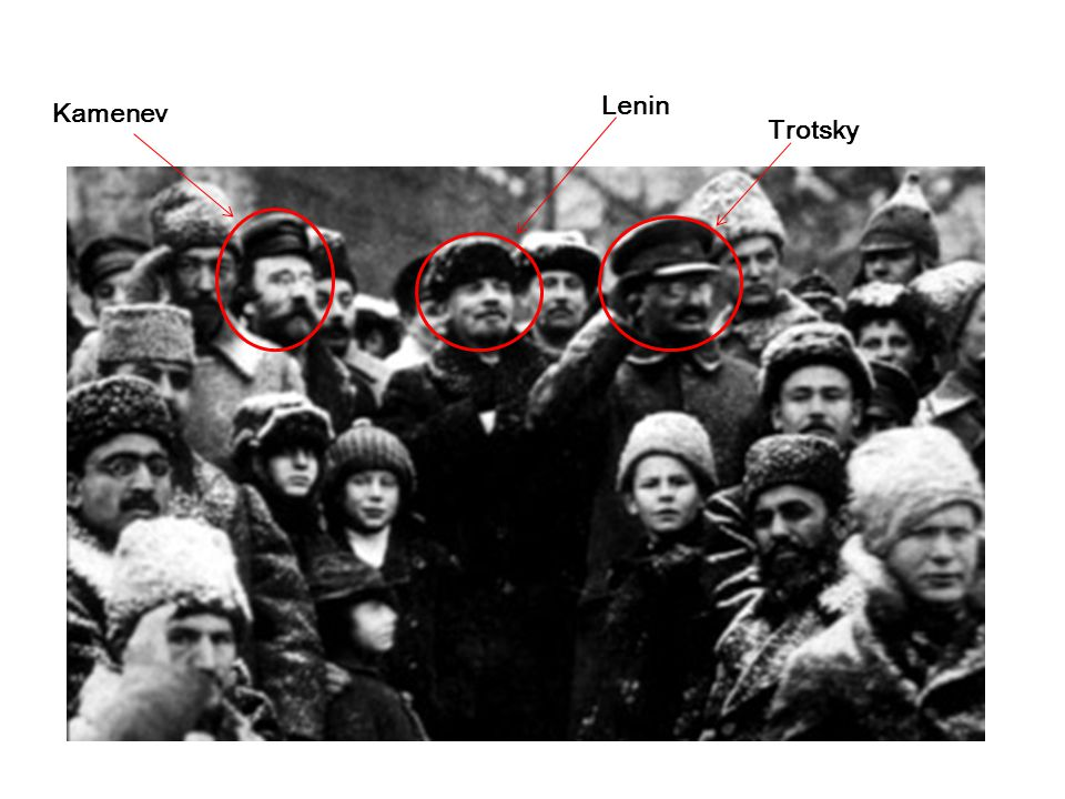Trotsky Kamenev Lenin Lenin, Trotsky and Kamenev- photo