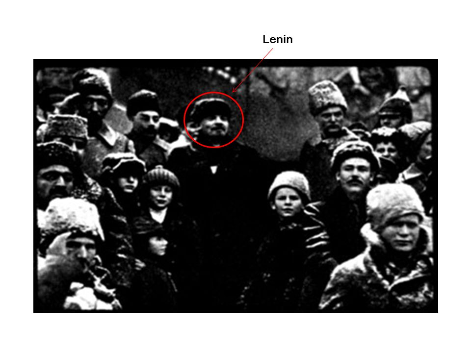 Photo of Lenin only Lenin