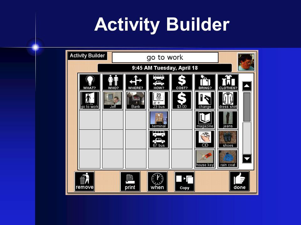 Activity Builder