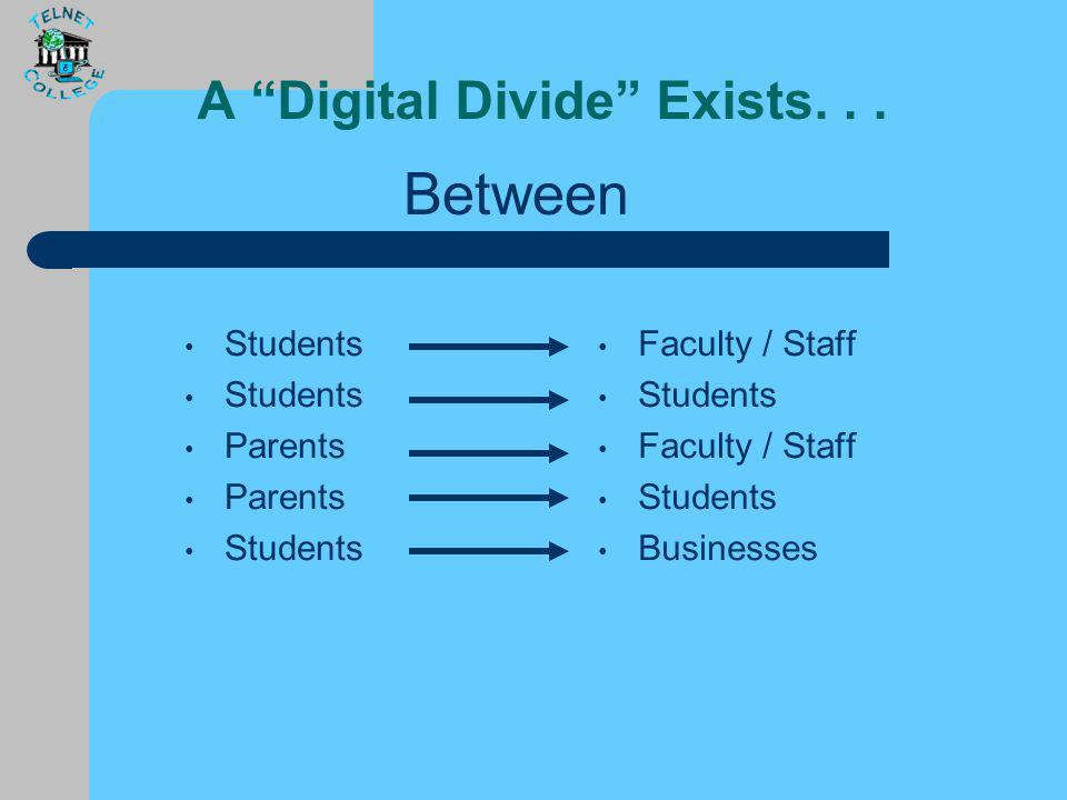 Digital Divide ?? the gap between those who can effectively use new information and communication tools, such as the Internet, and those who cannot (S
