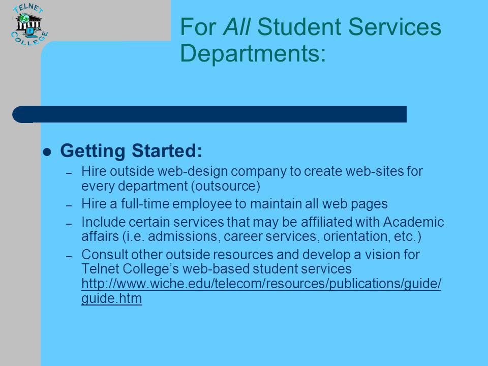 Web-Based Student Services