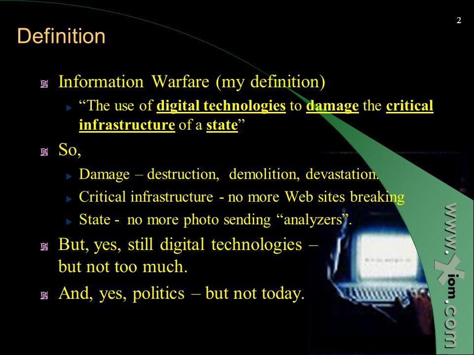 When Keyboards are drawn - Urban Information Warfare Ofer Shezaf, Xiom February 2003 www..com