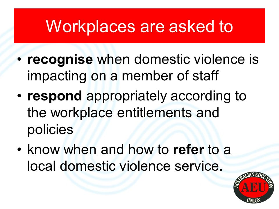 Consequences more disrupted work history on lower personal incomes employed at higher levels in casual and part-time work than women with no experience of violence Without intervention & support