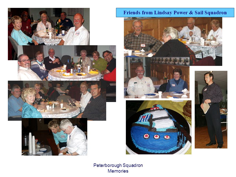 Peterborough Squadron Memories Friends from Lindsay Power & Sail Squadron