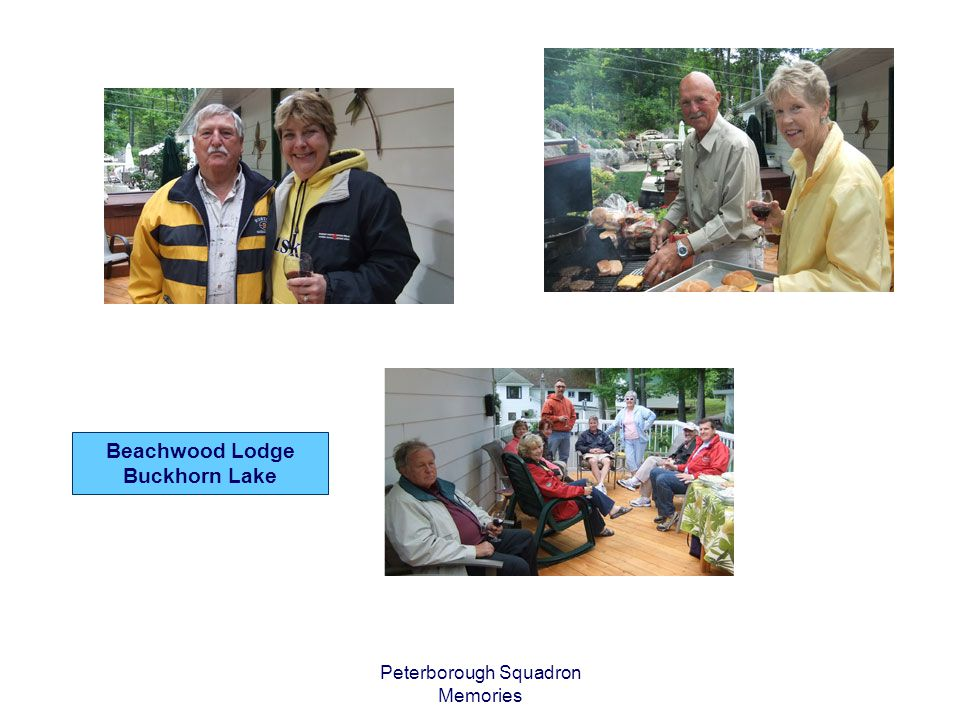 Peterborough Squadron Memories Beachwood Lodge Buckhorn Lake