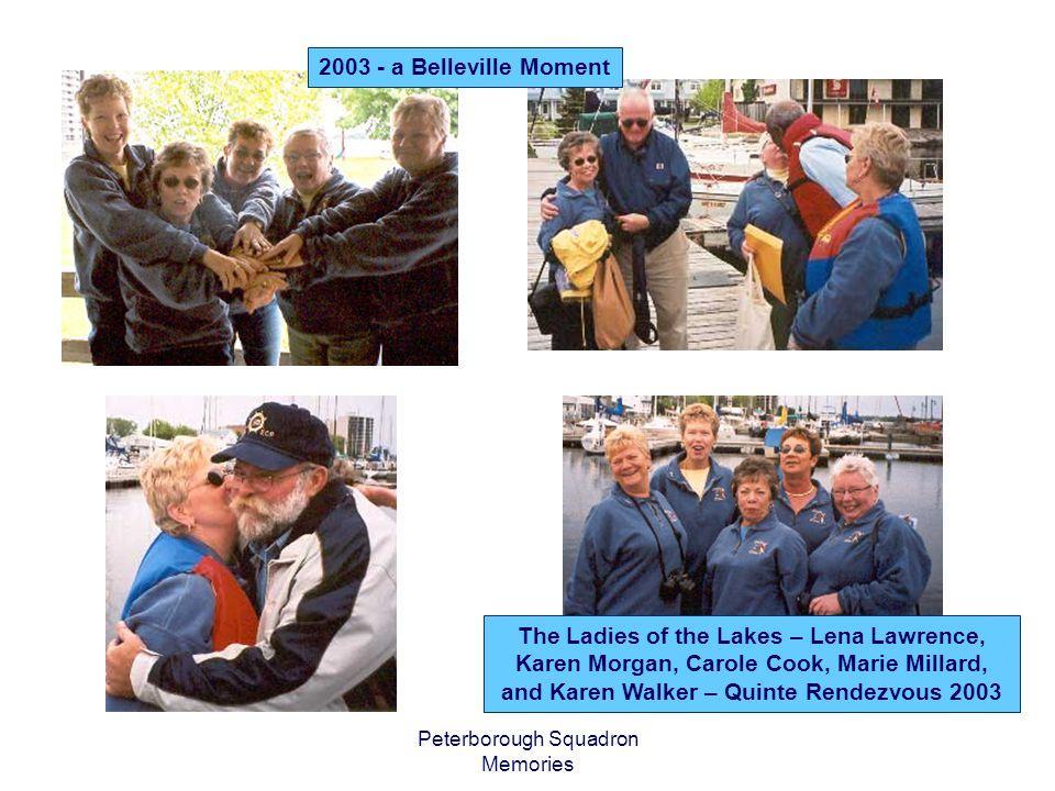Peterborough Squadron Memories Boaters Flea Market May 2004