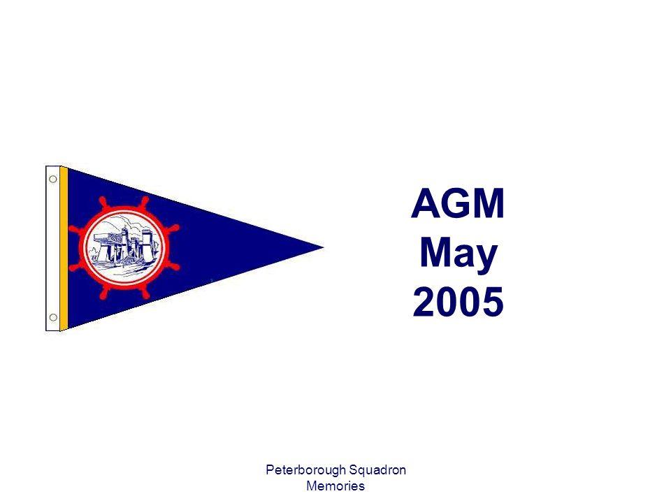 Peterborough Squadron Memories AGM May 2005