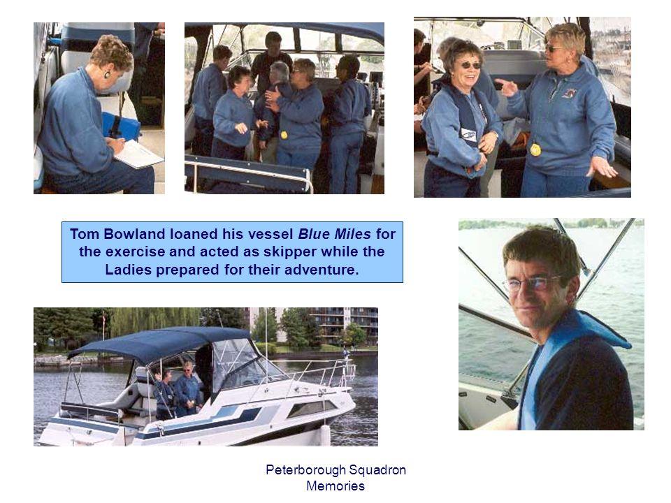 Peterborough Squadron Memories Shakedown Cruise June 2006