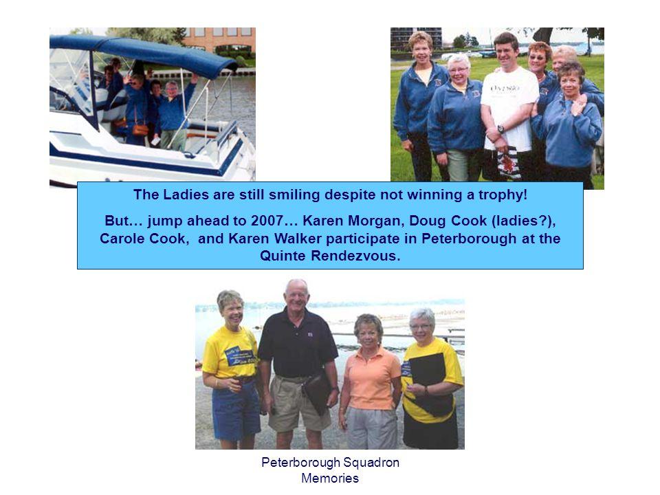 Peterborough Squadron Memories Ladies of the Lakes - Winners.