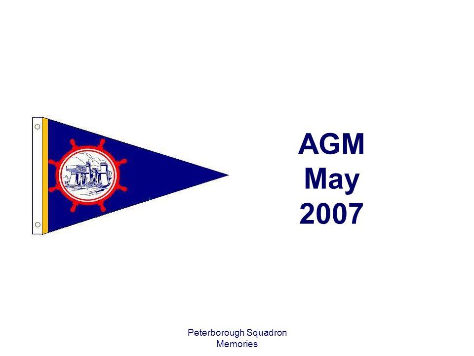 Peterborough Squadron Memories AGM May 2007