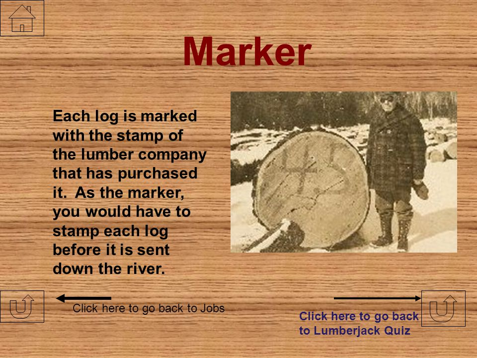 Scaler Click here to go back to Jobs Another job where your math skills will be challenged. As a scaler, you measure the length of the logs after they