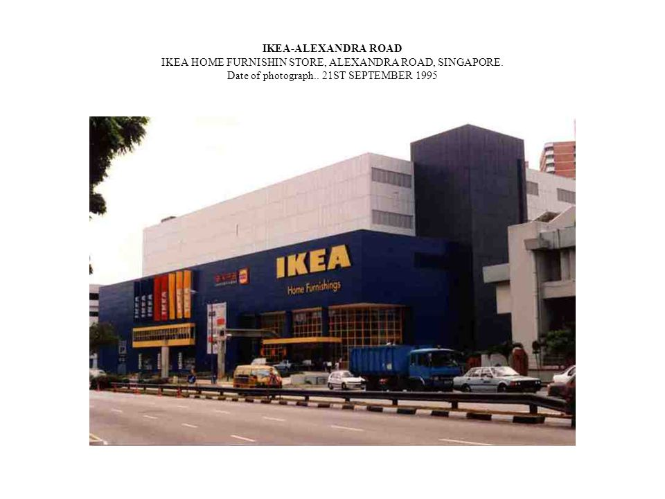 IKEA-ALEXANDRA ROAD IKEA HOME FURNISHIN STORE, ALEXANDRA ROAD, SINGAPORE. Date of photograph.. 21ST SEPTEMBER 1995