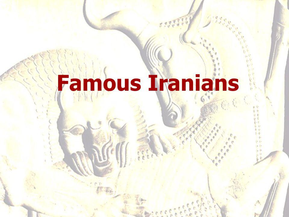 Famous Iranians