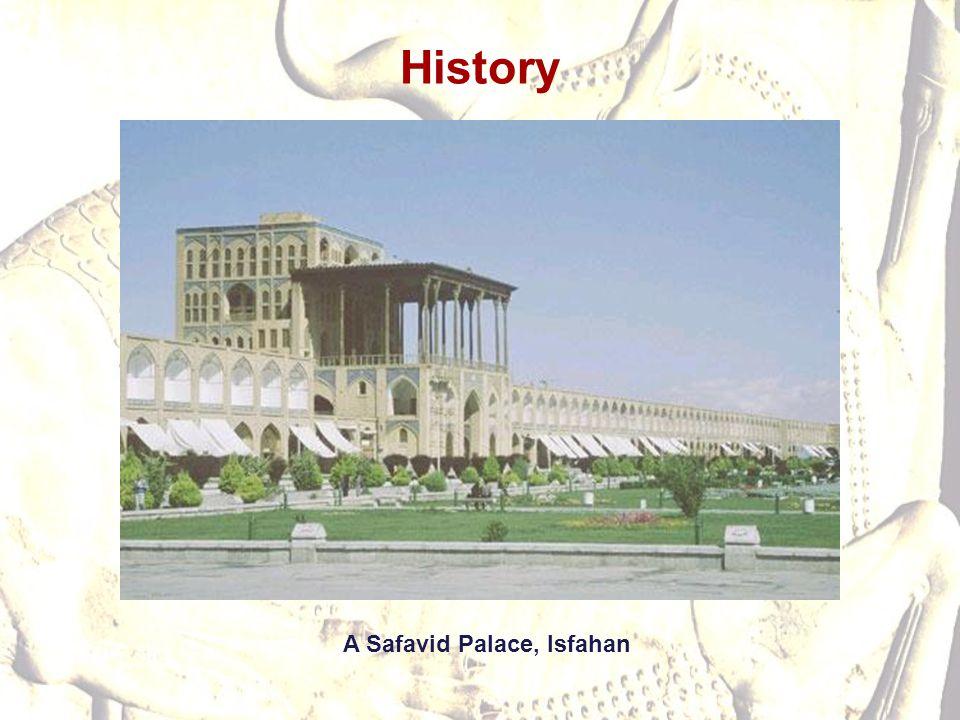 History A Safavid Palace, Isfahan