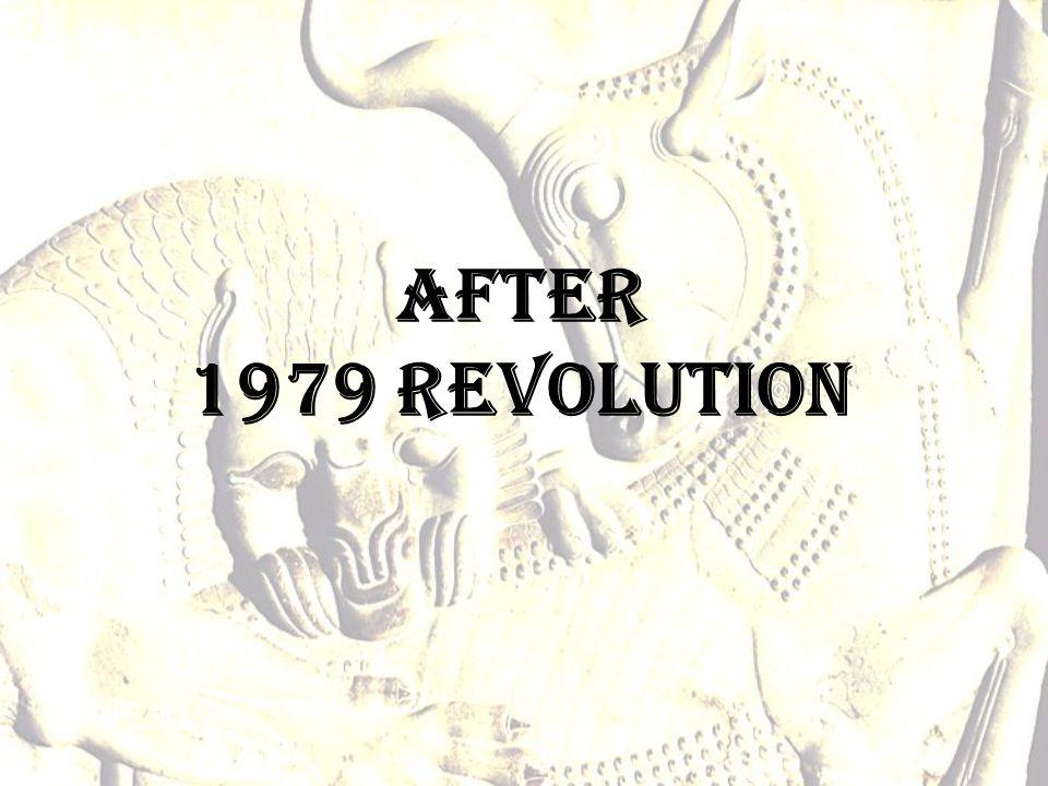 After 1979 revolution