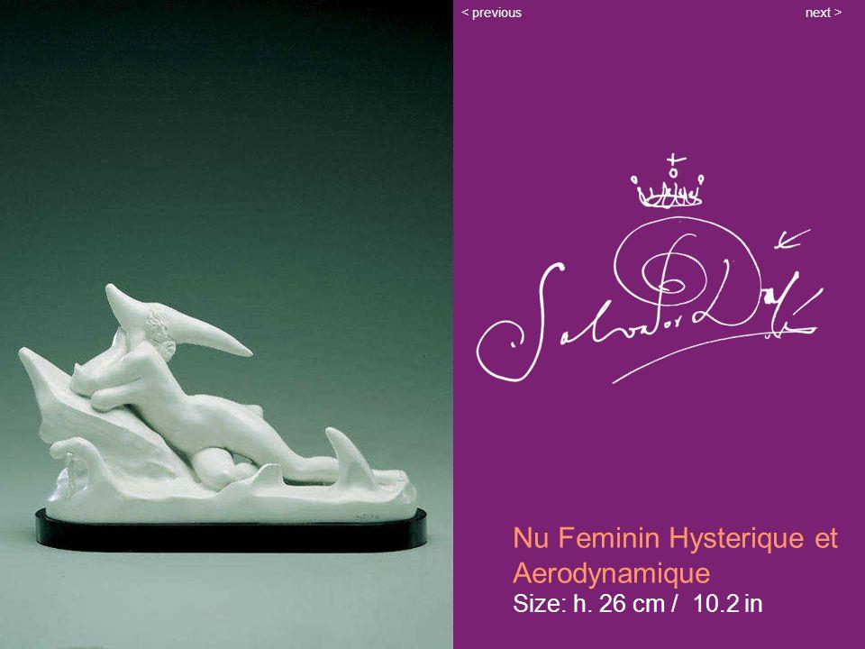 Nu Feminin Hysterique et Aerodynamique Size: h. 26 cm / 10.2 in next >< previous
