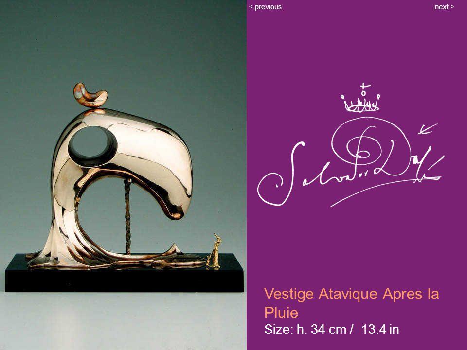 Vestige Atavique Apres la Pluie Size: h. 34 cm / 13.4 in next >< previous