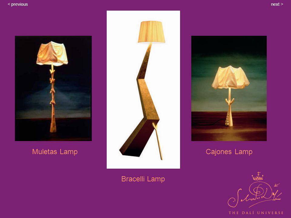 Muletas Lamp Bracelli Lamp Cajones Lamp next >< previous