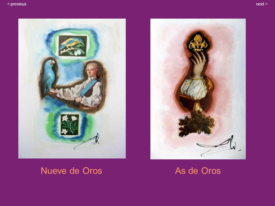 Nueve de OrosAs de Oros next >< previous