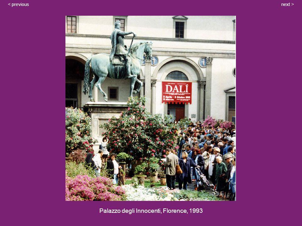 Palazzo degli Innocenti, Florence, 1993 next >< previous