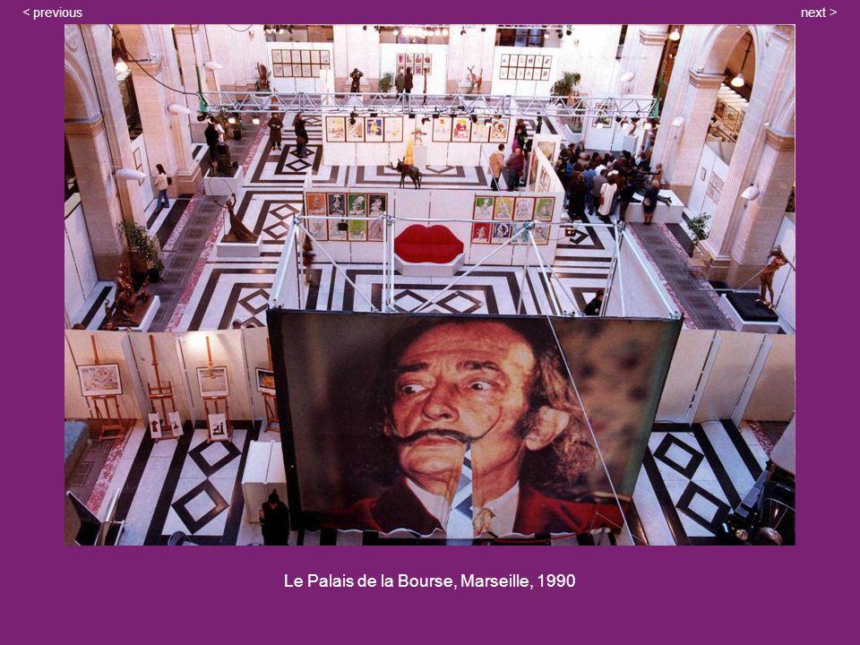 Le Palais de la Bourse, Marseille, 1990 next >< previous