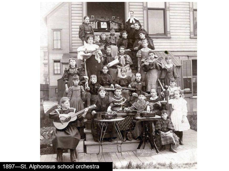 1897St. Alphonsus school orchestra