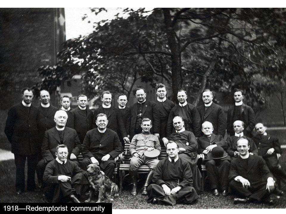 1918Redemptorist community