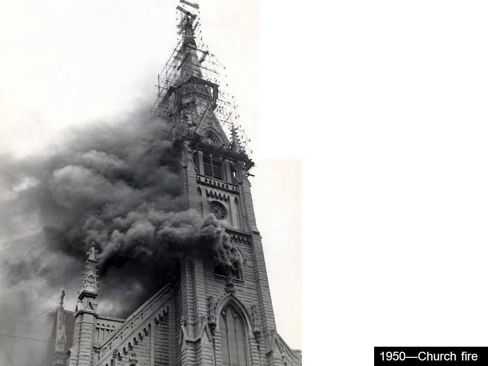 1950Church fire