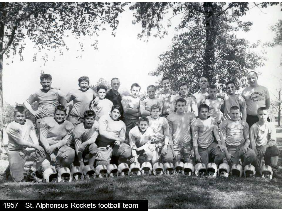 1957St. Alphonsus Rockets football team