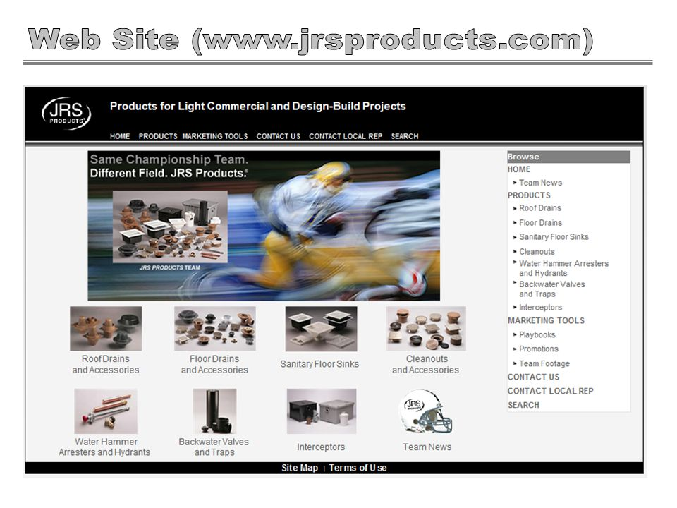 The JRS Products is now a more complete offering for the light commercial/design build market.